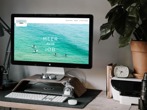 Nordsee Kollektiv – Webseite & Logo
